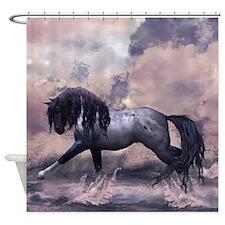 Fantasy Horse Equine Art Shower Curtain