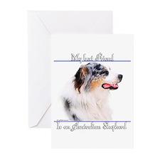 Aussie Best Friend2 Greeting Cards (Pk of 10)