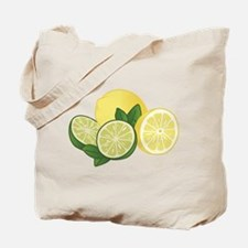 Lemons And Limes Tote Bag