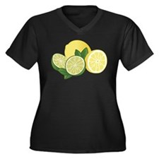 Lemons And Limes Plus Size T-Shirt