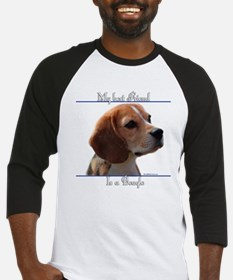 Beagle Best Friend2 Baseball Jersey