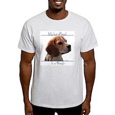 Beagle Best Friend2 Ash Grey T-Shirt