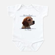 Beagle Best Friend2 Infant Bodysuit