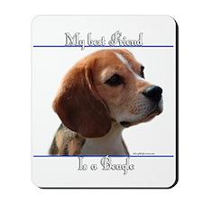 Beagle Best Friend2 Mousepad