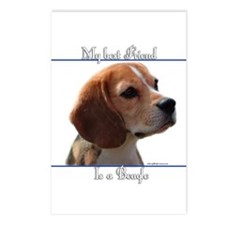 Beagle Best Friend2 Postcards (Package of 8)