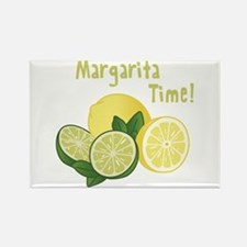 Margarita Time Rectangle Magnet
