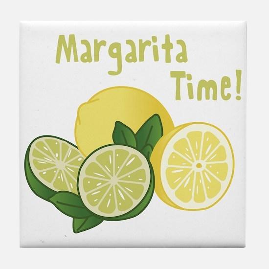 Margarita Time Tile Coaster