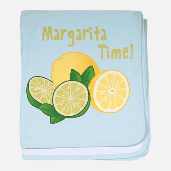 Margarita Time baby blanket