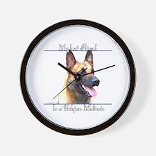 BelgianMal Best Friend2 Wall Clock