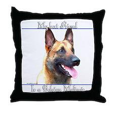 BelgianMal Best Friend2 Throw Pillow