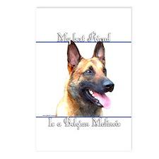 BelgianMal Best Friend2 Postcards (Package of 8)