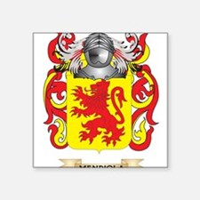 Mendiola Coat of Arms - Family Crest Sticker