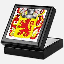 Mendiola Coat of Arms - Family Crest Keepsake Box