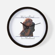 Bloodhound Best Friend2 Wall Clock