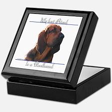 Bloodhound Best Friend2 Keepsake Box