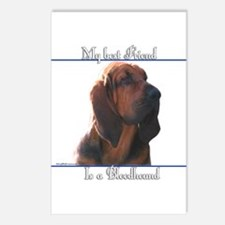 Bloodhound Best Friend2 Postcards (Package of 8)