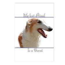 'Zoi Best Friend2 Postcards (Package of 8)