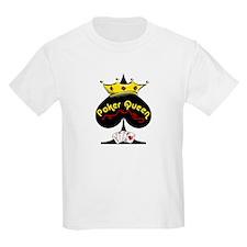 Poker Queen Kids T-Shirt