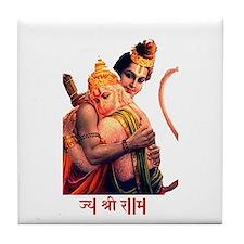 <b>NEW - Lord Rama & Hanuman </b> Tile C