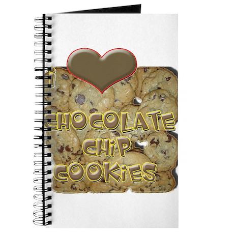 I Love Chocolate Chip Cookies Journal