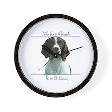 Britt Best Friend2 Wall Clock