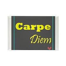 Carpe Diem 1 Rectangle Magnet