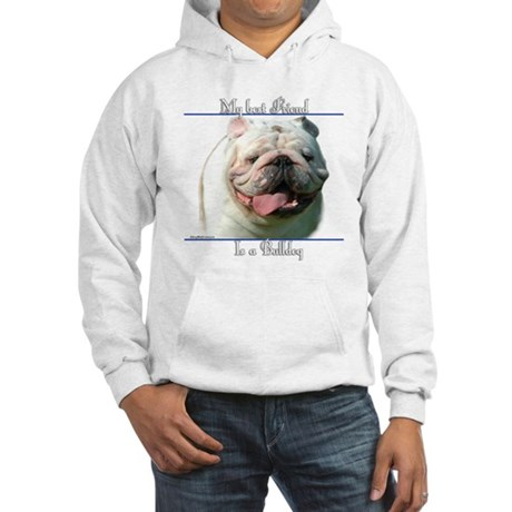 Bulldog Best Friend2 Hooded Sweatshirt
