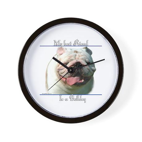 Bulldog Best Friend2 Wall Clock
