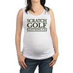 2-ScratchGreen.gif Maternity Tank Top