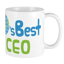 Earths Best CEO Small Mug