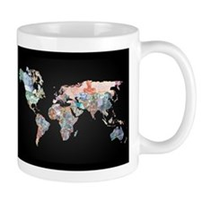 World Money Fiat Currency Map Mug