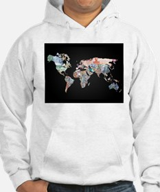 World Money Fiat Currency Map Hoodie