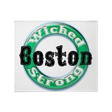 WS Celts Dk Throw Blanket