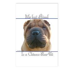 Shar-Pei Best Friend2 Postcards (Package of 8)