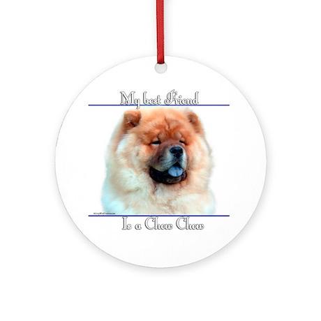 Chow Best Friend2 Ornament (Round)