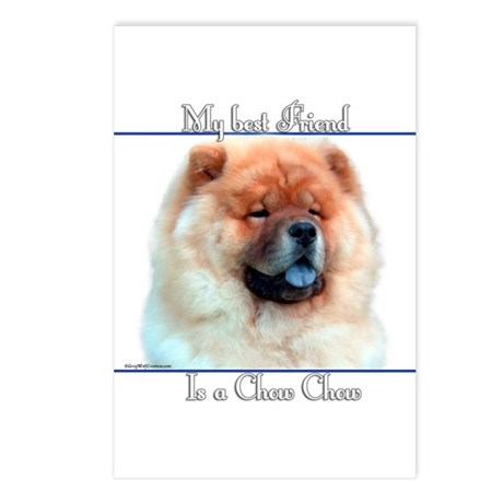 Chow Best Friend2 Postcards (Package of 8)