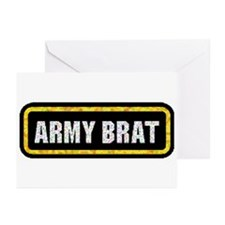 Army Brat Greeting Cards (Pk of 10)