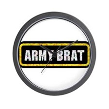 Army Brat Wall Clock