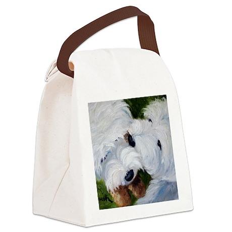 Tug O' War Canvas Lunch Bag