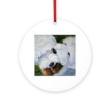 Tug O' War Round Ornament