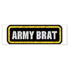 Army Brat Bumper Bumper Sticker