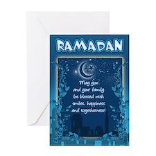 Ramadan Greeting Card With Inside Verse