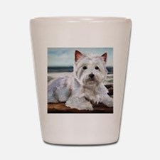 King of the Beach Shot Glass