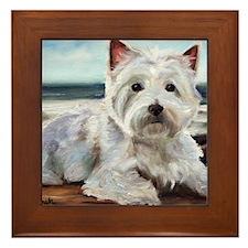 King of the Beach Framed Tile