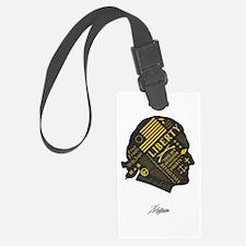 LIBERTY: Thomas Jefferson Luggage Tag