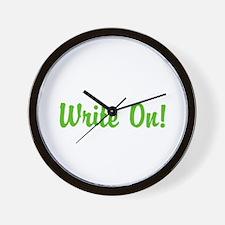 Write On! Wall Clock