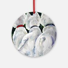 three Amigos Round Ornament