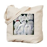 West highland terrier Bags & Totes