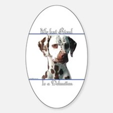 Dal Best Friend2 Oval Decal