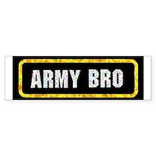 Army Bro Bumper Bumper Sticker